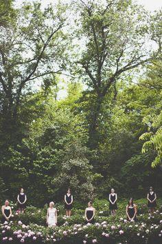 back to nature - bridesmaids