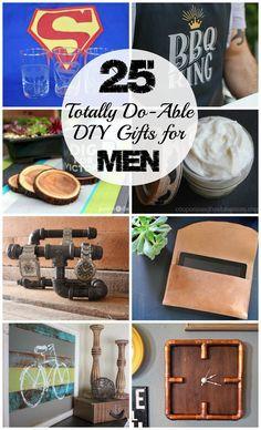 25 DIY Gifts For Men To Enjoy