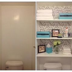 $50 bathroom makeover. Way to go, Sarah!