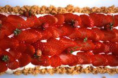 Nigel Slater's Strawberry Mascarpone Tart