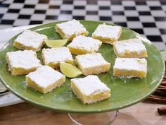 Pat and Gina Neely's Key Lime Bars - easy-to-print recipe at: