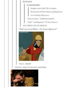 Unless this movie got made instead.   31 Times Tumblr Had Serious Questions About Disney
