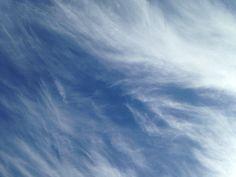Il cielo sopra il mare di Ostia