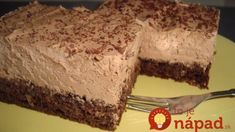 Extra čokoládový koláč na lyžičky: Fantastická maškrta s orechmi, čokoládou a smotanovým krémom – rýchla príprava! Sweet Desserts, Sweet Tooth, Veggies, Food And Drink, Sweets, Chocolate, Health, Recipes, Decor
