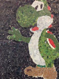 OCS High School Art: Art 2- Ripped Paper Art