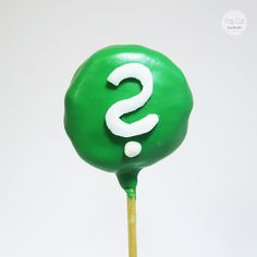 Cake Pop Fragezeichen