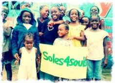 More Than Me distributed some of our #shoes in #liberia recently.    giveshoes.org