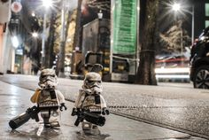 "LEGO Stormtroopers on ""Night Patrol"" by Jon San Pedro — GeekTyrant"