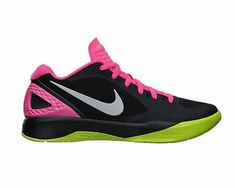 0bcc68001f3e0 New Nike Women s Volley Zoom Hyperspike Volleyball Shoes Black Pink 7