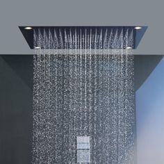 A must for a shower that you would never want to leave. Hans Grohe Axor design