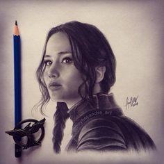 This is amazing. Katniss Everdeen.
