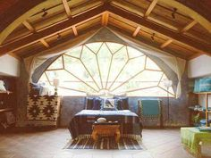 Do not be afraid to mix styles when using natural building methods.