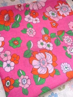 vintage sheet fabric