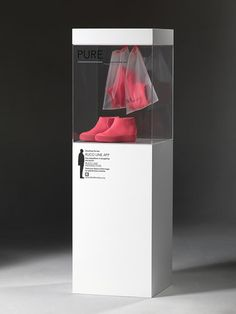 Image 23 of 44 from gallery of Best Architect-Designed Products of Milan Design Week Pure Sneaker for Ruco Line (Display) / Jean Nouvel Display Design, Booth Design, Store Design, Exhibition Display, Exhibition Space, Exhibition Stands, K Store, Jean Nouvel, Museum Displays