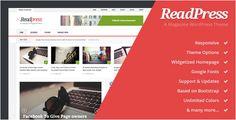 ReadPress – Magazine WordPress Theme (Blog / Magazine) » Built-in, ReadPress, Social, Redux, Bootstrap, WordPress » AssociateThemes.com