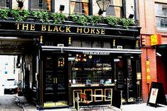 The Black Horse - Rathbone Place, London, UK.