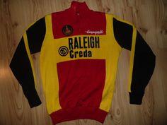 4b2167ed4 Vintage 1980s Team Raleigh Creda Campagnolo Jersey Shirt Trikot Cycling  Fahrrad