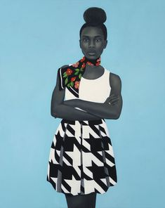 """Michelle Obama selects her official portraitist, Amy Sherald. """"A clear unspoken granted magic,"""" by Amy Sherald. African American Museum, African American Artist, American Artists, American Women, Obama Portrait, Karl Valentin, Amy Sherald, Presidential Portraits, Black Women"""
