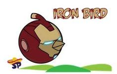 Iron man angry bird