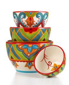 Resultado de imagem para vida by Espana Dinnerware, Jardine Collection - Macy's Painted Plates, Hand Painted Ceramics, Pottery Painting, Ceramic Painting, Ceramic Clay, Ceramic Plates, Pottery Bowls, Ceramic Pottery, China Painting