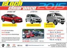 Raouf Dusmohamud & Co. Ltd - Open Day For Clearance Sales 2015. Info: 212 6739 / 210 6127