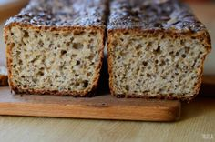 Trufla: Chleb bezglutenowy.