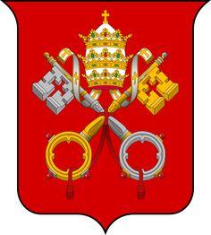 Coat of arms of the Vatican City ◆Vatican City - Wikipedia http://en.wikipedia.org/wiki/Vatican_City #Vatican