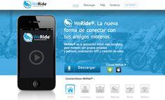 WeRide, una aplicación social para moteros - http://www.actualidadiphone.com/2014/09/29/weride-una-aplicacion-social-para-moteros/
