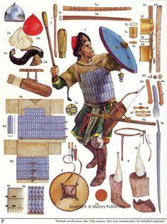 Christa Hook - Caballero túrquico, finales del siglo XII