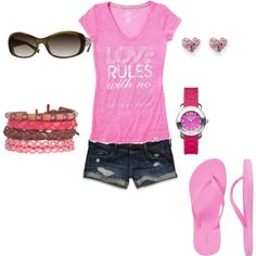 Summertime!, created by wcatterton on Polyvore