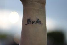 nyc skyline tattoos - Google Search