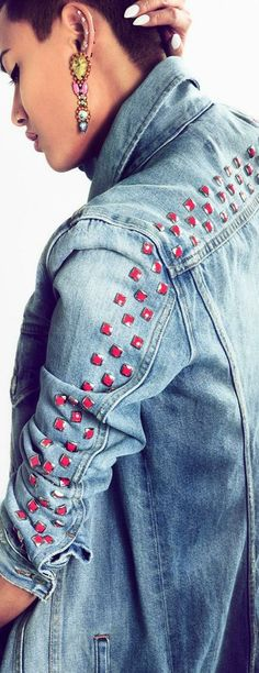 Studded Denim | The House of Beccaria