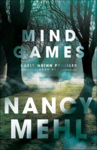 I have read several books by Nancy Mehl, and Mind Games is the best yet! Romantic suspense is a genre of Christian fiction that I really. Books To Read, My Books, Christian Fiction Books, Mind Games, Book Recommendations, Book Lists, Book 1, Book Worms, Mindfulness