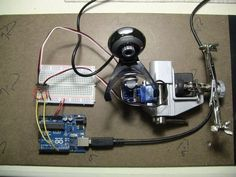 Picture of Face detection and tracking with Arduino and OpenCV