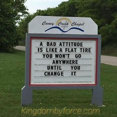 Kingdom By Force — Church Sign Sayings, Funny Church Signs, Funny Road Signs, Church Humor, Sign Quotes, Faith Quotes, Bible Quotes, Words Quotes, Bible Verses