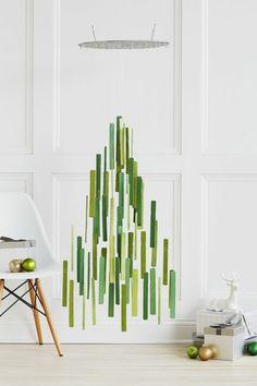 schmuck basteln selber machen filz originell weihnachtsbaum