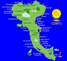 Corfu! Because of Gerald Durrell I went there on our honeymoon..always wanted to go to corfu..its was just what i expected..wonderful