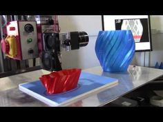 TRiBOT 3-in-1 3D Print, CNC Mill, Injection Mold Machine - Kickstarter - YouTube