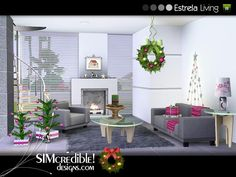 Estrela Living by SIMcredible!  http://www.thesimsresource.com/downloads/1179137