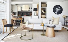 Why compact living is a clever choice. For more, visit houseandleisure.co.za Small Space Living, Small Spaces, Big And Small, Compact Living, Small Apartments, Dining Bench, Interior, Table, Clever
