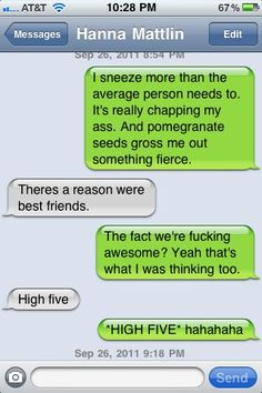 Cheyenne, I could see us having a conversation like this