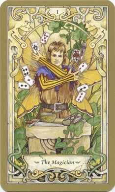 Magician from the Mystic Faerie Tarot