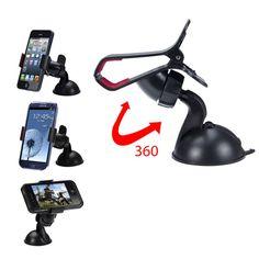 Woweinew 360 rotatie universele auto voorruit houder telefoon auto houder voor iphone gratis verzending & groothandel