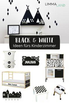 Warum Nicht Auch Im Kinderzimmer? Wir Haben Hier Eine Auswahl Unserer  Schwarz Weiß Folien Zusammengestellt. Lass Dich Inspirieren.