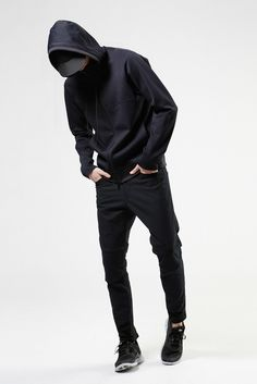 This is a fall outfit for the stylish grim reaper