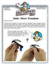 Directions for making a micro crossbox
