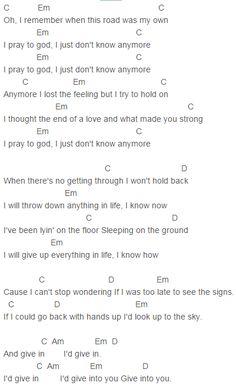 flirting signs for girls lyrics chords lyrics