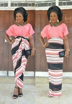 I like her style ~African fashion, Ankara, kitenge, African women dresses, African prints, African men's fashion, Nigerian style, Ghanaian fashion ~DKK