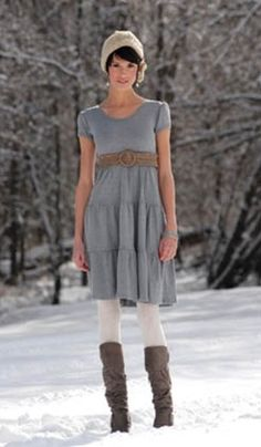 I love this mod, shabby-chic look from ABC's Once Upon A Time (Mary Margaret Blanchard).