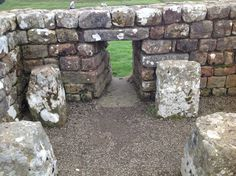 Roman Hypercaust at Housesteads Roman Fort. NE47 6NN near Bardon Mill. Northumberland UK 5/9/16